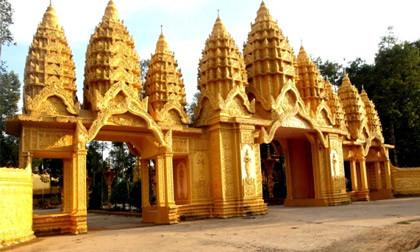 Tại sao đại gia Trầm Bê bỏ 50 tỷ xây dựng chùa Vàm Ray?