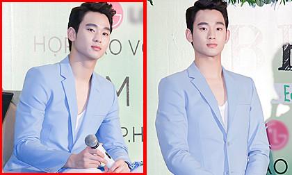 """Ngắm cận gương mặt """"trai đẹp ngoài hành tinh"""" Kim Soo Hyun"""