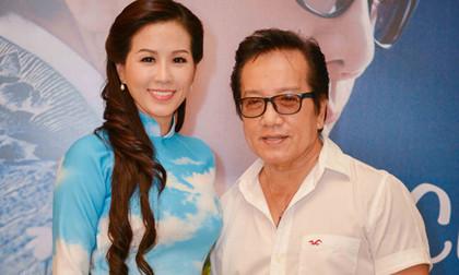 Hoa hậu Thu Hoài hạnh phúc khi gặp thần tượng