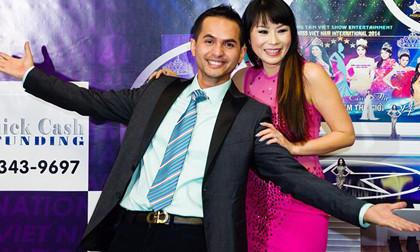 Đức Tiến lần đầu làm giám khảo một cuộc thi Hoa hậu tại Mỹ