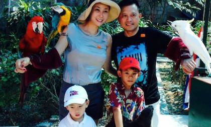 Gia đình Kiều Anh với kỳ nghỉ hạnh phúc tại Thái Lan