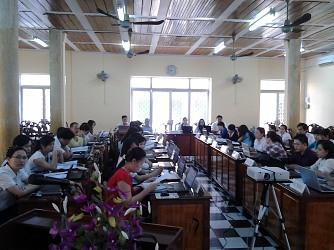 TAND tỉnh An Giang Tập huấn hệ thống phần mềm quản lý tài sản Nhà nước trong hệ thống TAND