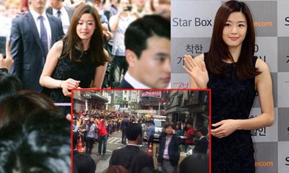 """Giao thông Seoul tắc nghẽn vì vẻ đẹp nữ thần của """"Minh tinh trái đất"""""""