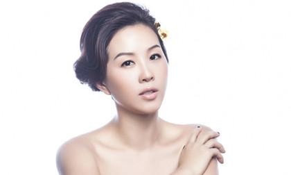 """Hoa hậu Thu Hoài bán nude """"đẹp như tranh"""""""