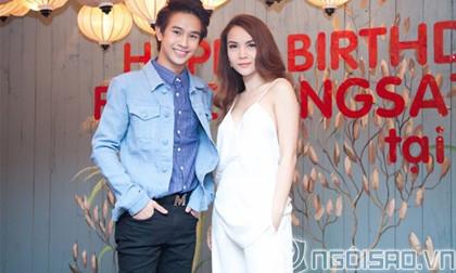 Yến Trang mừng sinh nhật hoàng tử mới điện ảnh Thái Lan