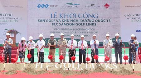 Thanh Hóa cấp phép khai thác cát phục vụ san lấp dự án sân golf ở Sầm Sơn