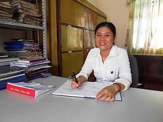 Thư ký Lê Thị Hương Giang (TAND huyện Vĩnh Lộc - Thanh Hóa): Nữ thư ký giỏi, tận tụy với công việc