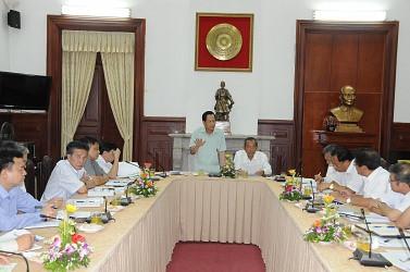 Ban Thường vụ Đảng ủy Khối các cơ quan Trung ương làm việc với Ban Thường vụ Đảng ủy TANDTC
