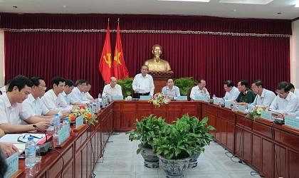 Đoàn kiểm tra của Ban Bí thư Trung ương Đảng làm việc với Ban Thường vụ Thành ủy Cần Thơ