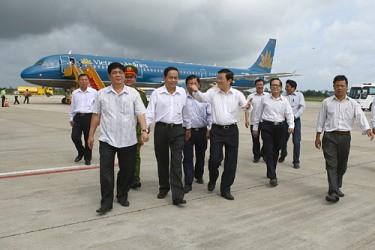 Chủ tịch nước Trương Tấn Sang thăm và làm việc với Ban Chỉ đạo Tây Nam bộ