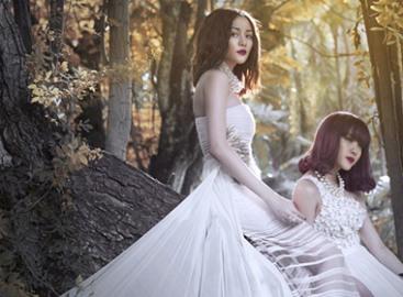 Chị em Thiều Bảo Trang gợi cảm trong bộ ảnh mới