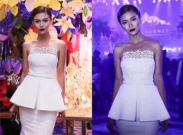 Mâu Thủy sang trọng dự tiệc cùng giám đốc sản xuất Vietnam's Next Top Model