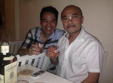Quản lý ca sĩ Quang Hà hạnh phúc khi được gặp đại gia Hà Dũng