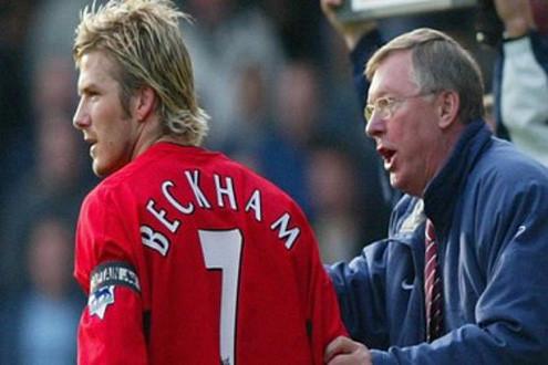 """Sir Alex không muốn cho Beckham """"áo số 7"""" tại Man Utd"""
