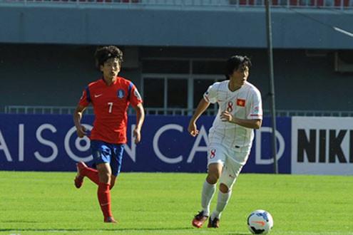 U19 Việt Nam-Hàn Quốc 0-6: Nỗ lực đã không thành