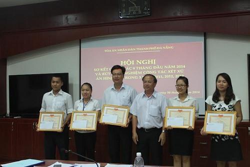 TAND 2 cấp TP. Đà Nẵng: Lá cờ đầu của hệ thống Tòa án các tỉnh duyên hải miền Trung - Tây Nguyên