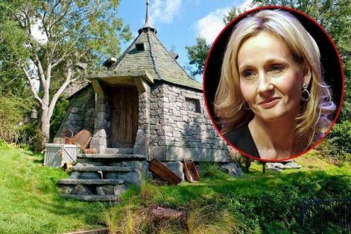 Tác giả Harry Potter dự định xây dựng chòi của lão Hagrid trong vườn