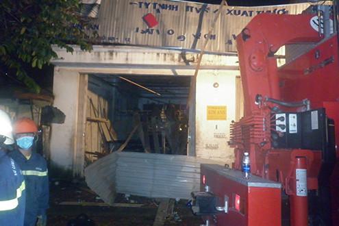 Nổ nhà xưởng ở TP Hồ Chí Minh làm 7 người chết và thương vong
