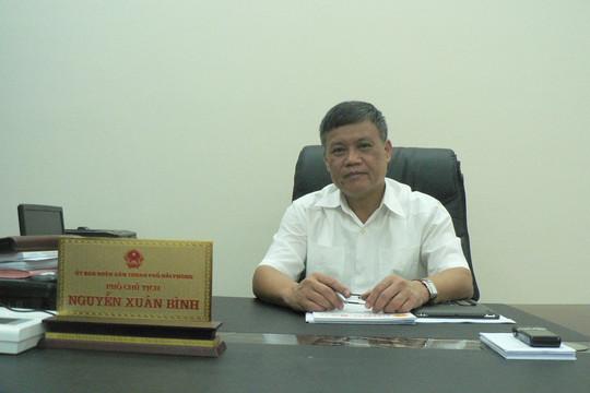 Ông Nguyễn Xuân Bình, Phó Chủ tịch UBND TP Hải Phòng: Quyết tâm thực hiện thành công đề án Thừa phát lại