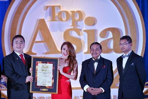 Ca sỹ Mỹ Tâm trở thành Huyền thoại âm nhạc Châu Á