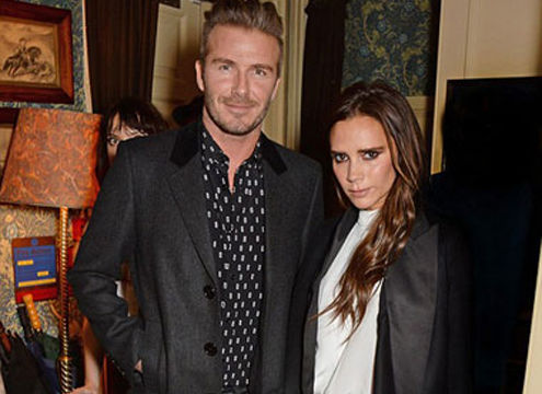 David Beckham và Victoria nổi bật cùng nhau dự sự kiện