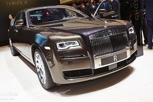Xe siêu sang 19 tỷ - Rolls-Royce Ghost Series II chào thị trường Việt