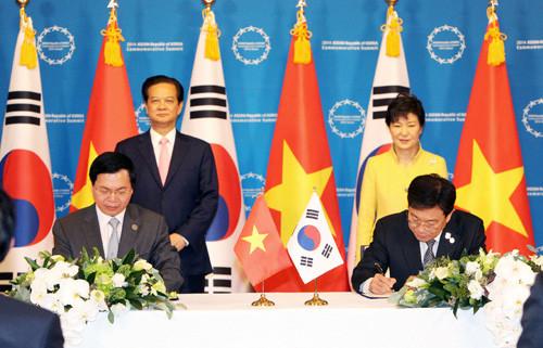 Thủ tướng dự Đối thoại với các doanh nghiệp Hàn Quốc