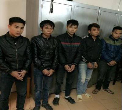 Thanh Hóa: Bắt giữ 5 đối tượng trộm cây gỗ sưa