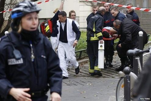 Pháp: Quốc tang 1 ngày sau thảm sát tòa soạn Charlie Hebdo