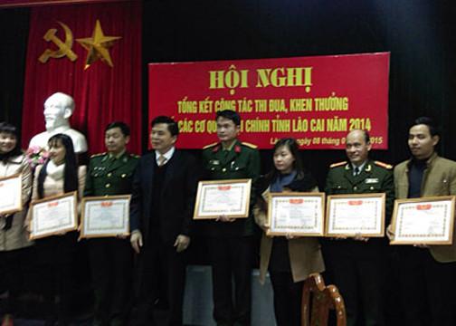 TAND tỉnh Lào Cai tổ chức Hội nghị tổng kết công tác thi đua khối các cơ quan Nội chính năm 2014