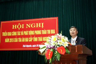 TAND hai cấp tỉnh Thái Nguyên tập trung xét xử lưu động nhiều vụ án trọng điểm, phức tạp