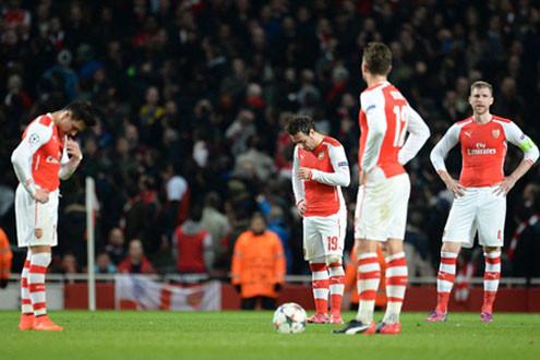 Cận cảnh Arsenal ngã ngựa trước Monaco