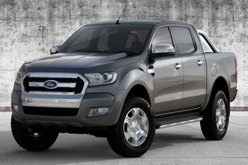 Mẫu xe bán tải Ford Ranger ra mắt phiên bản mới