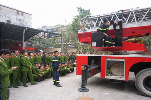 Phương thức tuyển sinh trường Đại học Phòng cháy chữa cháy năm 2015