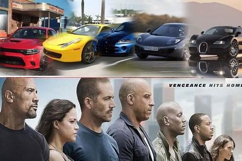 """Choáng với dàn xe khủng trong """"Fast and Furious 7"""""""