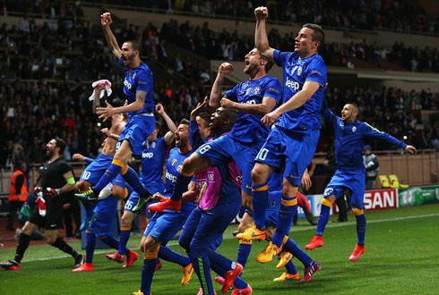 Hoà Monaco, Juventus vào bán kết sau 12 năm chờ đợi