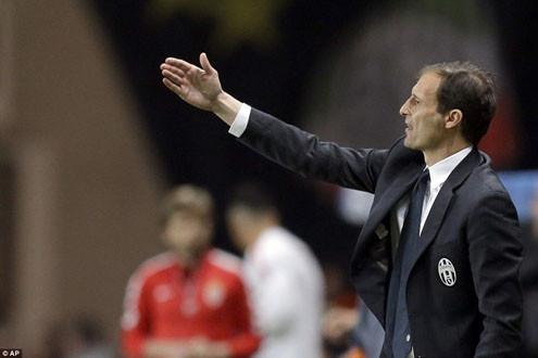 """HLV Allegri: """"Juventus có cơ hội trở thành đội bóng số 1 châu Âu"""""""