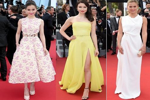 Sao châu Á hội tụ sao thế giới trên thảm đỏ Cannes ngày đầu tiên