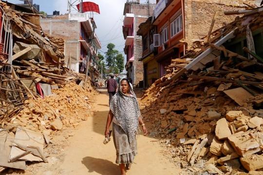 """Nepal vật lộn với """"dư chấn"""" tâm lý sau động đất kinh hoàng"""