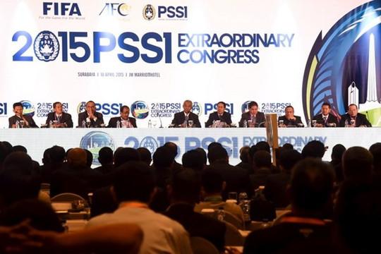 """Bóng đá Indonesia chính thức bị FIFA """"cấm vận"""""""