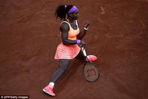 Lội ngược dòng thành công, Serena Williams vào chung kết Giải Roland Garros
