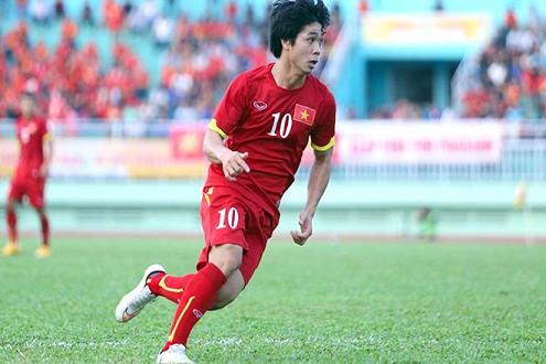 Công Phượng khả năng đá dự bị trận gặp U23 Thái Lan