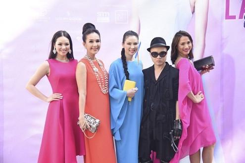 Mỹ nhân Việt hội ngộ tại show thời trang của Đỗ Mạnh Cường