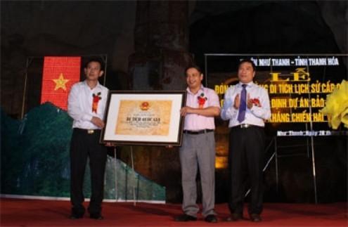 Lò cao kháng chiến Hải Vân được công nhận di tích lịch sử Quốc gia