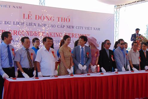 Phú Yên: Động thổ dự án khu du lịch liên hợp cao cấp