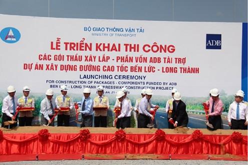 Lễ động thổ Dự án xây dựng đường cao tốc Bến Lức - Long Thành