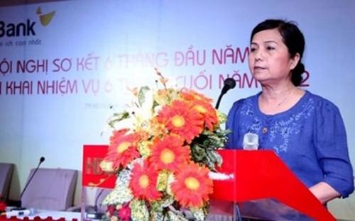 Bà Lê Thị Băng Tâm đã trở thành Chủ tịch HĐQT của Vinamilk
