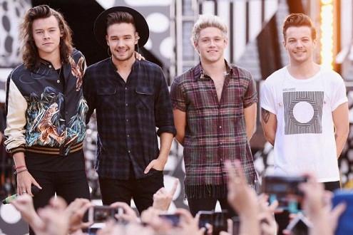 """""""Drag Me Down"""" của One Direction ra mắt ấn tượng trên Billboard Hot 100"""