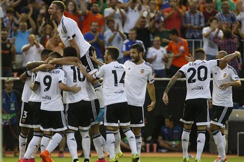 Thất bại trước Valencia, Monaco gặp khó ở Champions League