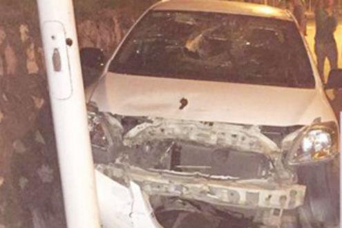 Tên cướp ô tô gây tai nạn vì không…biết lái